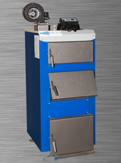 Отопительный котле под уголь и дрова Неус-В 38 кВт (NEUS-V) Бесплатная доставка!