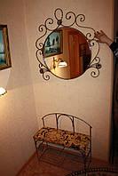 Мебель в прихожую (кованая банкетка и вешалка ) 27