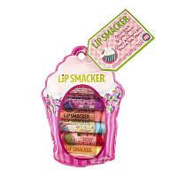 Набор бальзамов для губ Lip Smacker в стике, Cupcake Lover's Collection (Пирожное)