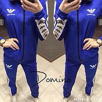 Женский спортивный костюм трехнитка большие размеры (цвета) РО2020, фото 1