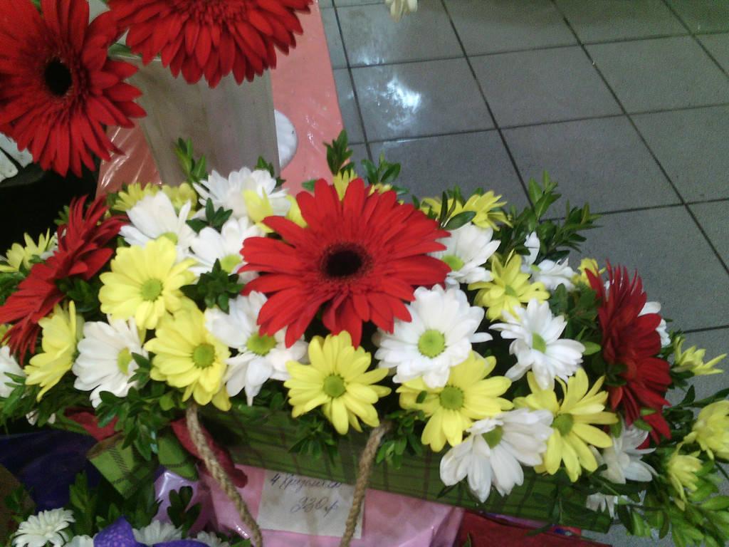 Сумочка из цветов