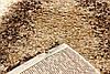 """Ворсистый ковер """"Геометрия"""" shaggy Маджести светло бежевый с коричневым, фото 3"""