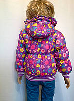 Куртка на манжете сердечки, фото 2