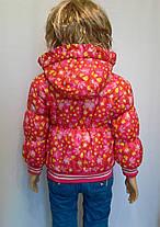Куртка на манжете цветочки, фото 3