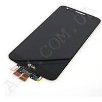 Дисплей (LCD) LG D802 G2/  D805 G2 с сенсором черный оригинал 20 пин