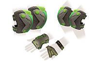 Защита спортивная, налокотники, наколенник, детская ZELART  PERFECTION (р-р M , L, серый), фото 1