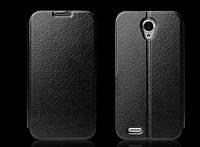 Чехол книжка Flip Cover для Lenovo S650 Black