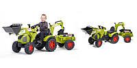 Детский трактор на педалях Falk 1010Y Claas Axos