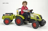 Детский трактор на педалях Falk 991B Claas Arion 540