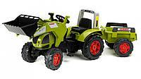 Детский трактор на педалях Falk 991AM Claas Arion 540
