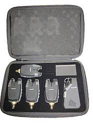 Набор водонепроницаемых сигнализаторов с рацией Fishing ROI FA210-4 Сенсор дор