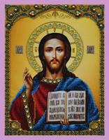 """Набор для вышивания бисером Икона """"Христа Спасителя"""""""