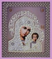 """Набор для вышивания бисером Икона """"Божией Матери. Венчальная пара"""""""