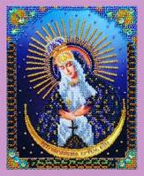 """Набор для вышивания бисером миниатюрная """"Остробрамская икона Божией Матери"""""""