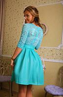 """Платье """"Весенний гипюр"""" 7 цветов"""