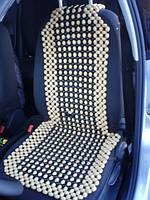 Накидка массажная деревянная для автомобильного кресла оптом 460 мм*1200 мм