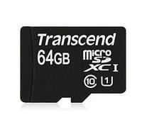 Карта памяти Transcend microSDXC 64Gb Class 10 UHS-I 300x (Premium)