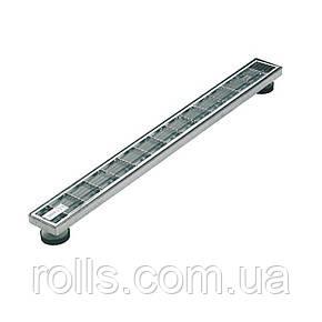 Дренажная решетка SitaDrain Klassik, 100х800мм оцинкованная сталь