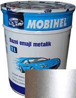 """70201 Автоэмаль базовая """"металлик"""" Helios Mobihel """"Серебряная"""", 1л"""