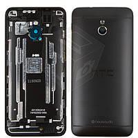 Корпус для HTC One mini M4 601n, черный, оригинал