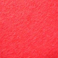 Фетр натуральный 1.3 мм, 20x30 см, ГЛУБОКИЙ КОРАЛЛОВЫЙ, фото 1