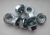 Гайка М10 с фланцем ГОСТ Р 50592-93, DIN 6923