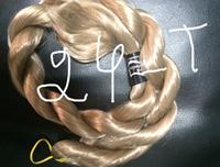 "Волос для кукол, синтетика. Модель - ""Софи 24T"".  На трессе."