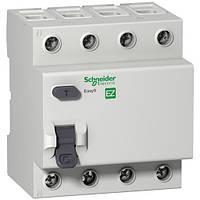 Дифференциальный выключатель (УЗО) Easy9 4п 63А 300мА АС