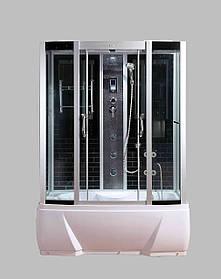 Гидромассажный бокс BADICO SAN 578J B 150x85х215 с джакузи и глубоким поддоном