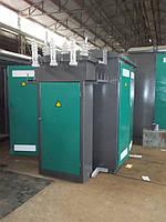 Комплектная трансформаторная подстанция КТПтв 400/10(6)/0.4 кВа (тупиковая с воздушным вводом)