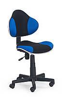 Кресло детское Flash Черный + синий
