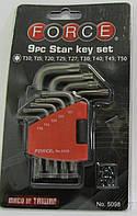 Набор Torx ключей 9ед FORCE F-5098