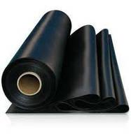 Пленка полиэтиленовая строительная черная ( вторичная ) 100 мкм