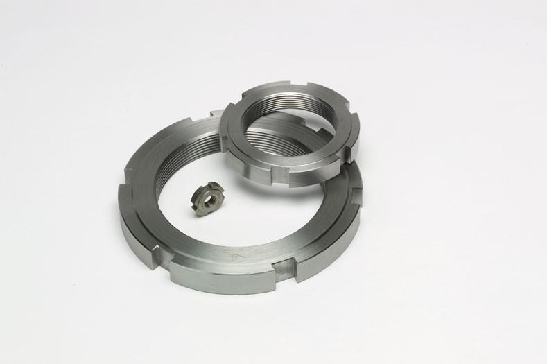 Гайка круглая шлицевая М52 DIN 981, ГОСТ 11871-88