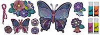 """Набор для творчества DohVinci """"Настенное украшение """"Бабочки"""" A9210, фото 1"""