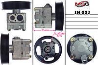 Насос Г/У INFINITI EX35 J50 07-12, INFINITI M G 35/35/25 06-,INFINITIFX45/35 03-08   MSG - IN 002