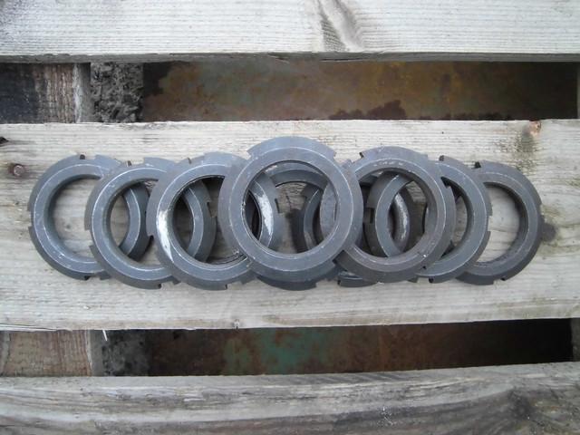 Гайка круглая шлицевая М52 ГОСТ 11871-88, DIN 981| Фотографии принадлежат предприятию Крепсила