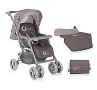 Коляска прогулочная Bertoni COMBI  DAWN BEIGE (+сумка для продуктов+накидка на ножки)