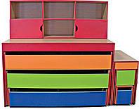 Комплект с кровати, лестницы и полки (26270)