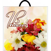Пакет полиэтиленовый петля J&B цветы