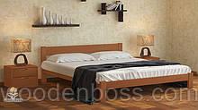 """Кровать односпальная от """"Wooden Вoss"""" Каролина (спальное место - 90х190/200)"""