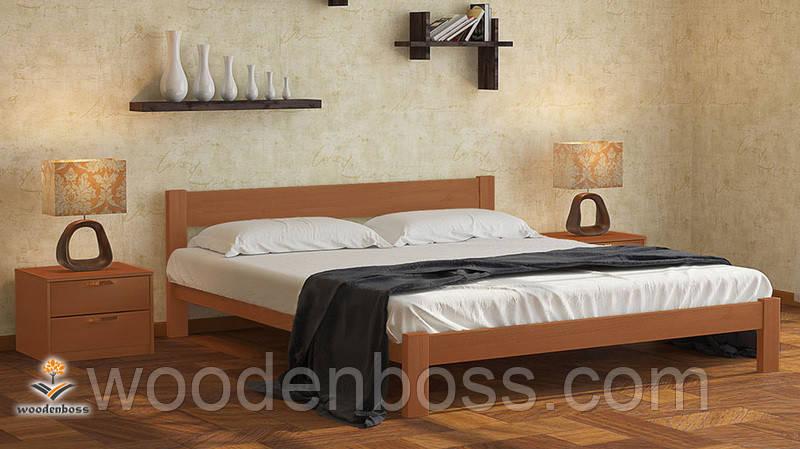 """Кровать двухспальная от """"Wooden Вoss"""" Каролина (спальное место - 180х190/200)"""