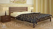 """Кровать односпальная от """"Wooden Вoss"""" Джулия (спальное место - 90х190/200)"""