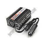Инвертор Gemix INV-150 150W(max 200W) 12V->220V (Автомобильный от прикуривателя)