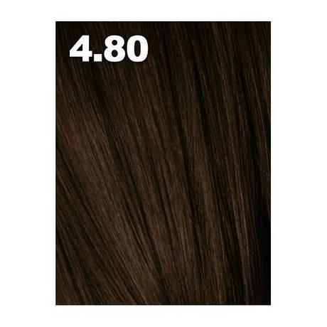 4.8 средне-коричневый шоколадный Indola Profession ITone Деперманентная краска для волос 60 мл.