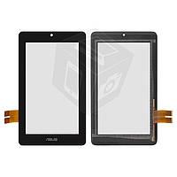 Touchscreen (сенсорный экран) для Asus MeMO Pad ME172V, оригинальный (черный)