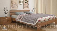 """Кровать односпальная от """"Wooden Вoss"""" Сакура (спальное место - 80х190/200)"""