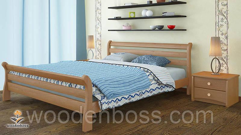 """Кровать односпальная от """"Wooden Вoss"""" Соната Люкс (спальное место - 80х190/200)"""