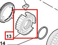 Шестерня муфты  1-2-ой передачи Fiat Doblo 1.2i 8v-1.9D-1.3MJTD 16v-1.9JTD-1.9MJTD