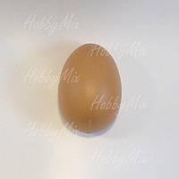 Яйцо из пластика БЕЖЕВОЕ  40х60 мм